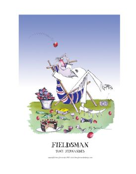 Fieldsman - signed print